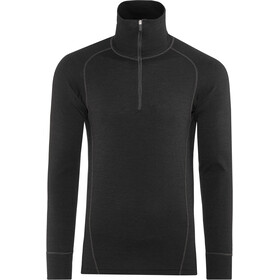 Devold Duo Active Sweat-shirt Col roulé avec Zip Homme, black